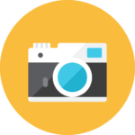 Camera front icon - Vocabolario