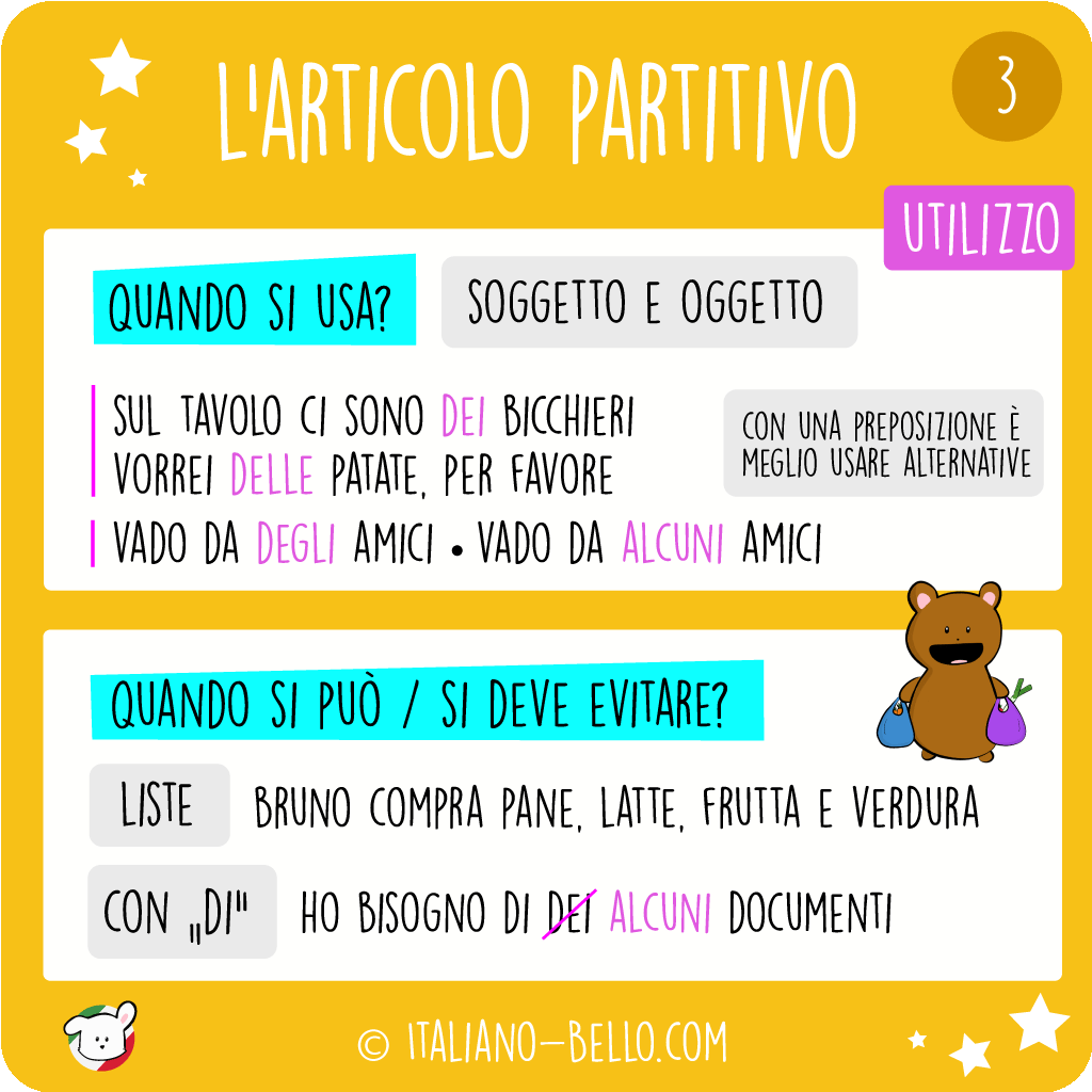 Partitive Article in Italian