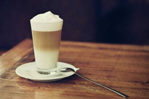 latte macchiato - Coffee in Italy