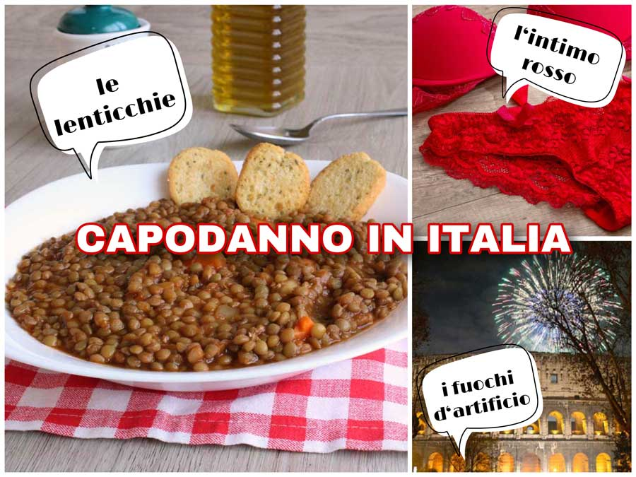 capodanno - Traditionen zu Silvester in Italien