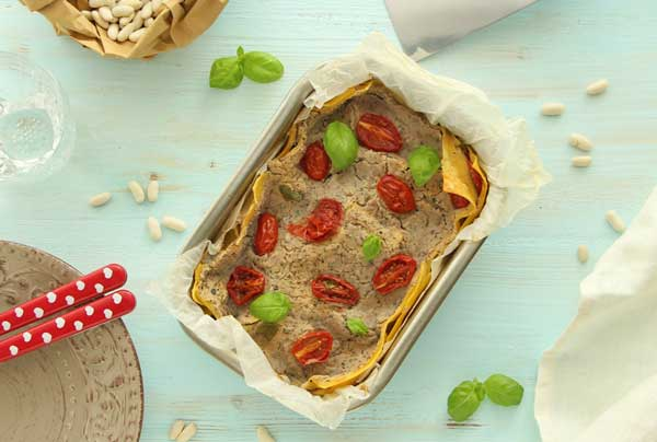 lasagna vegan senza glutine gluten free easy 1 1 - Italian Christmas meal: What do Italians eat at Christmas?