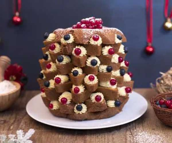 pandoro farcito 1 - Italian Christmas meal: What do Italians eat at Christmas?