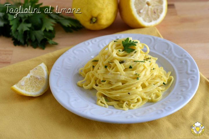 tagliolini al limone cremosi e saporiti ricetta facile e veloce il chicco di mais 720x480 2 - Italian Christmas meal: What do Italians eat at Christmas?