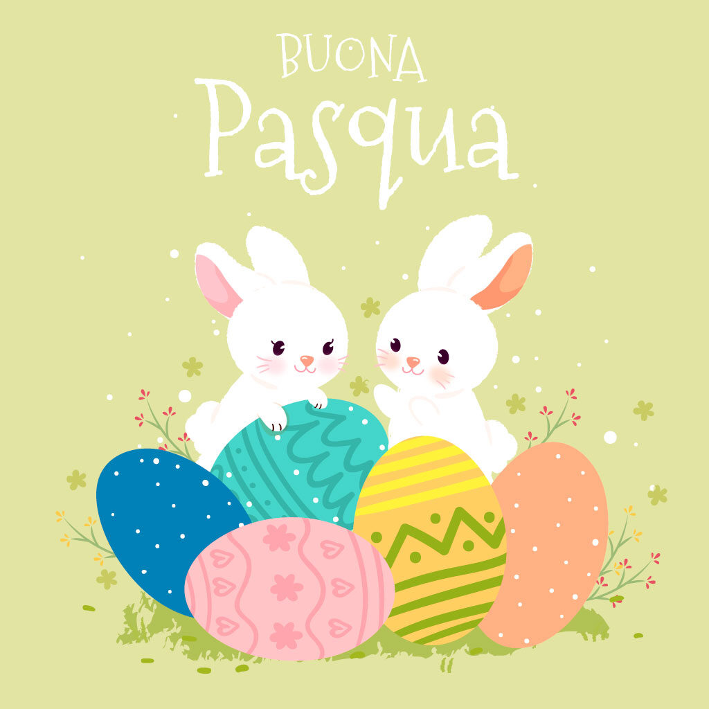 easter wishes in italian