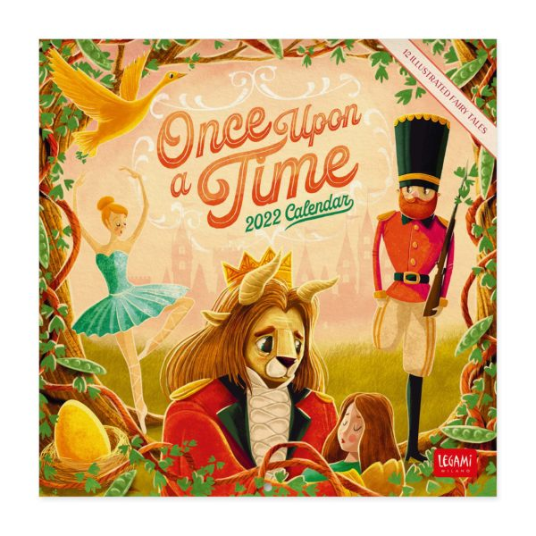 LEGAMI Once Upon A Time Wandkalender 2022
